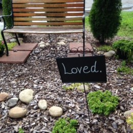 Memorial Garden: For those Little Ones who died before birth