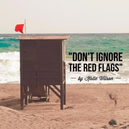 """Don't Ignore the Red Flags"" by Katie Wilson"