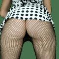 girl's butt