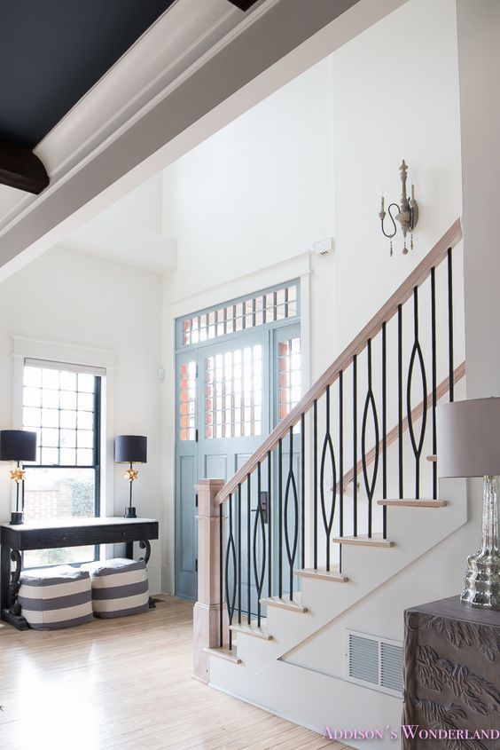 Our Corner of the World Blog | Staircase Inspiration - via Addison's Wonderland