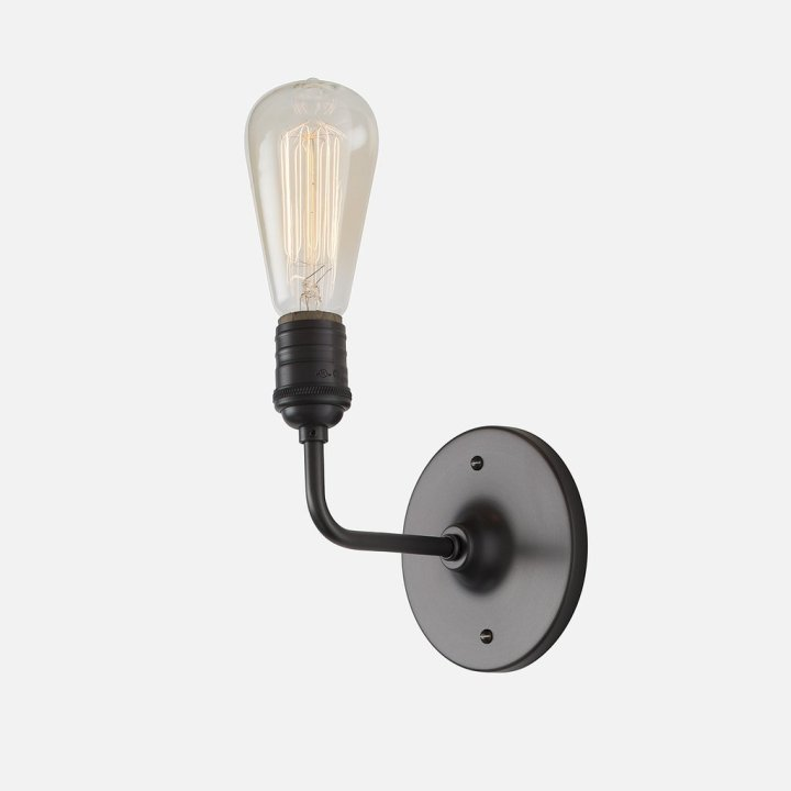 Our Corner of the World Blog | The lighting hack that saved us hundreds - Schoolhouse Electric sconce pictured