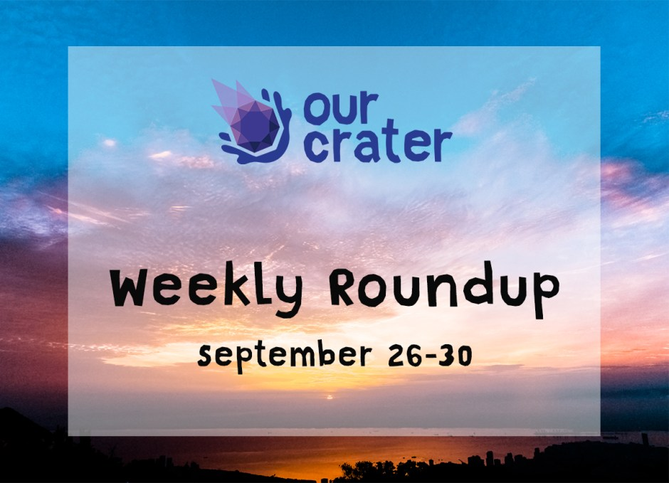 Weekly Roundup: September 26-30
