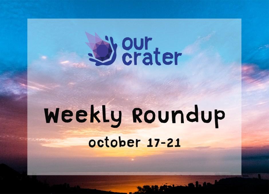 Weekly Roundup: October 17-21