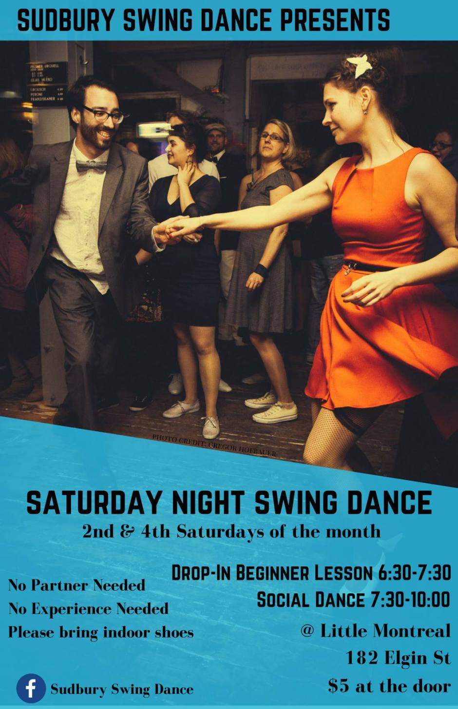 PUT A SWING IN YOUR STEP WITH SUDBURY SWING DANCE