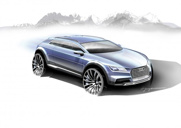 Audi Bringing This Angular, Yet-Unnamed Concept to Detroit