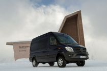 Mercedes-Benz Introduces 4×4 Sprinter in Europe
