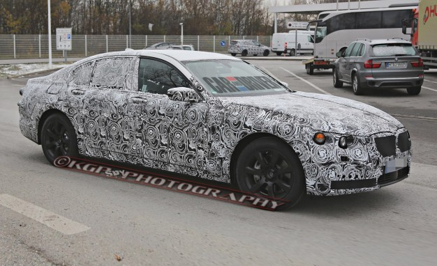 2016 BMW 7-series Spied: BMW's Next Big Thing Could Lose 500 Pounds