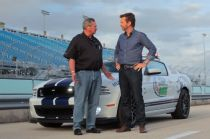 Video: Justin Bell Paces NASCAR Race with Ford Mustang Cobra GT500