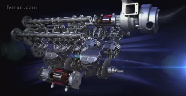 Ferrari Flaunts Its 1.6-Liter Turbo V-6 Ahead of 2014 Formula 1 Season