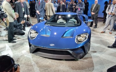 Ford GT Supercar Reveal