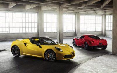 Alfa Romeo 4C Stays True to Self for 2018