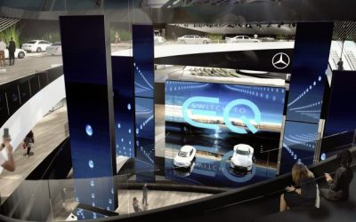 Mercedes EQ Electric-Vehicle Badge Emerges, Arrival of First Products Revealed