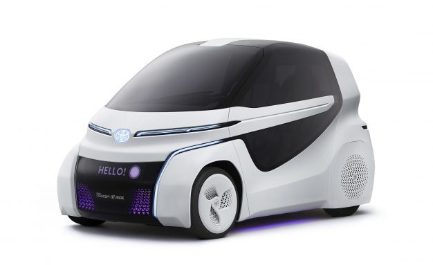 Toyota Concept-i Ride and Walk: Improved Mobility for Disabled Drivers