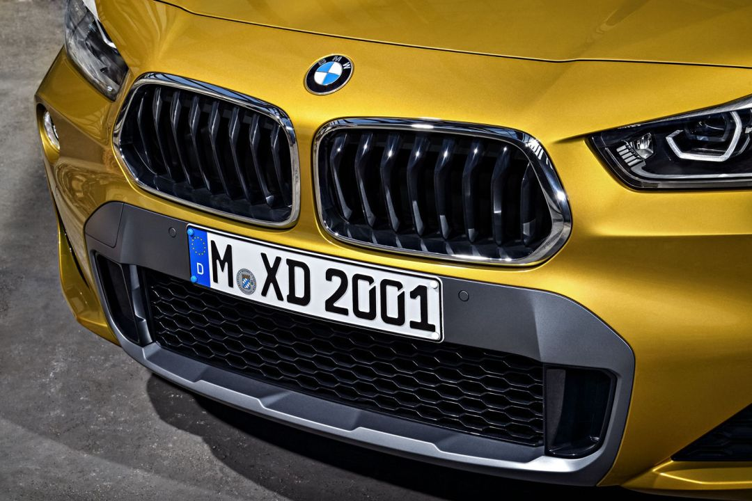 X2 front grille