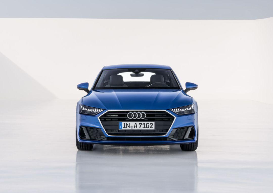 A7 blue front