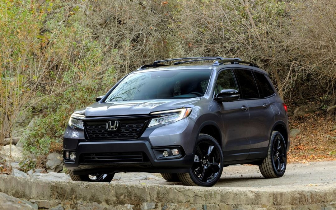 2019 Honda Passport SUV takes a Bow