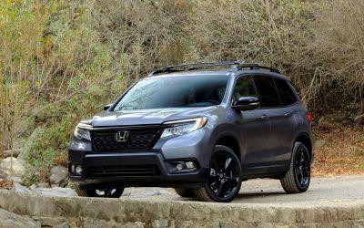 2019 Honda Passport SUV takes a Bow