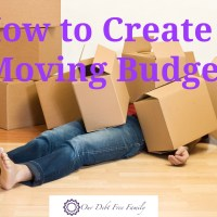 Moving Budget