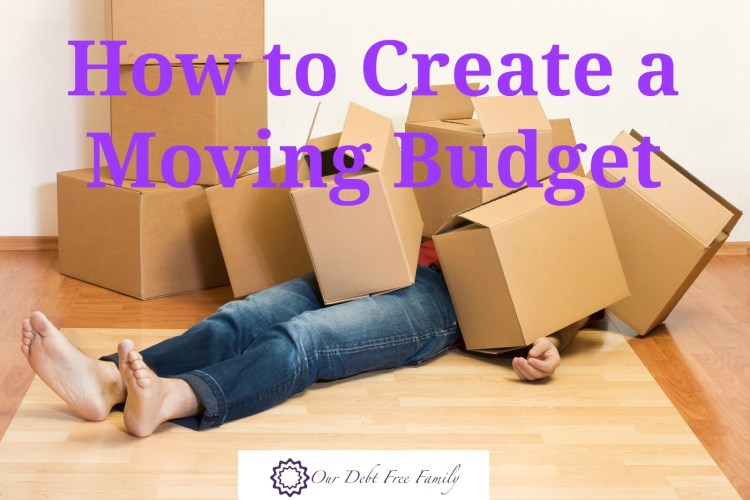 How to Set a Moving Budget