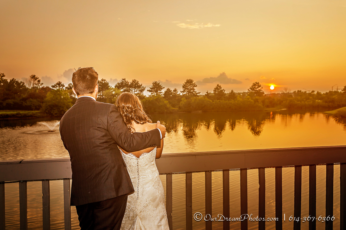 The wedding & reception of Gillian Scherz and Jacob Johnson photographed Saturday, August 2, 2014 at the Waters Edge Conference Center. (© James D. DeCamp | http://OurDreamPhotos.com | 614-367-6366)