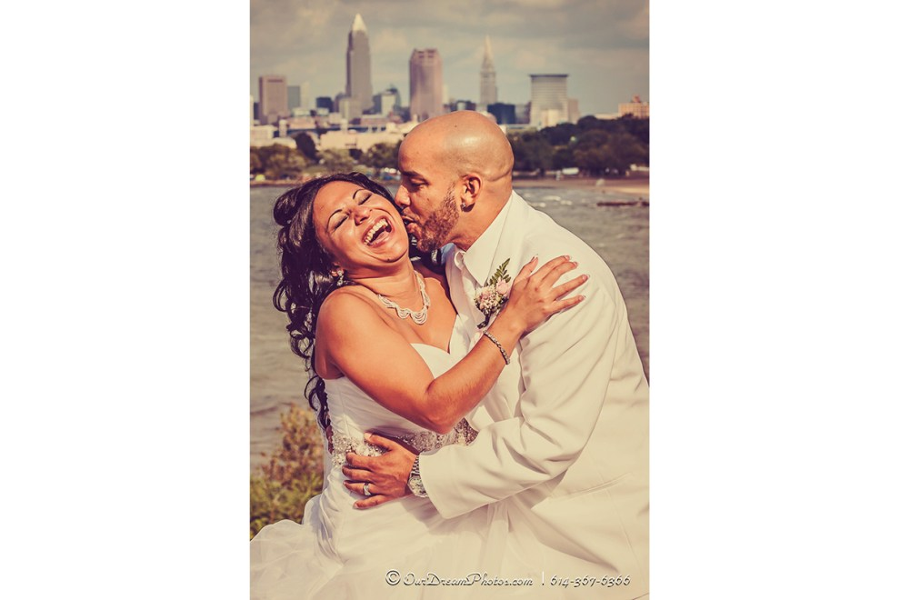 The wedding and reception of Priscilla Hernandez and John Woodrick photographed Saturday, September 21, 2013 at the DoubleTree by Hilton Hotel Cleveland Downtown - Lakeside. (© James D. DeCamp   http://OurDreamPhotos.com   614-367-6366)