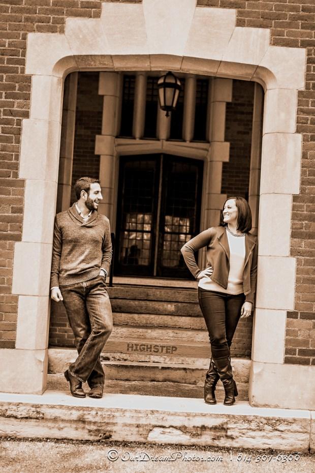 Abby Morgan & Hal Hamilton photographed Sunday, November 23, 2014. (© James D. DeCamp | http://OurDreamPhotos.com | 614-367-6366)