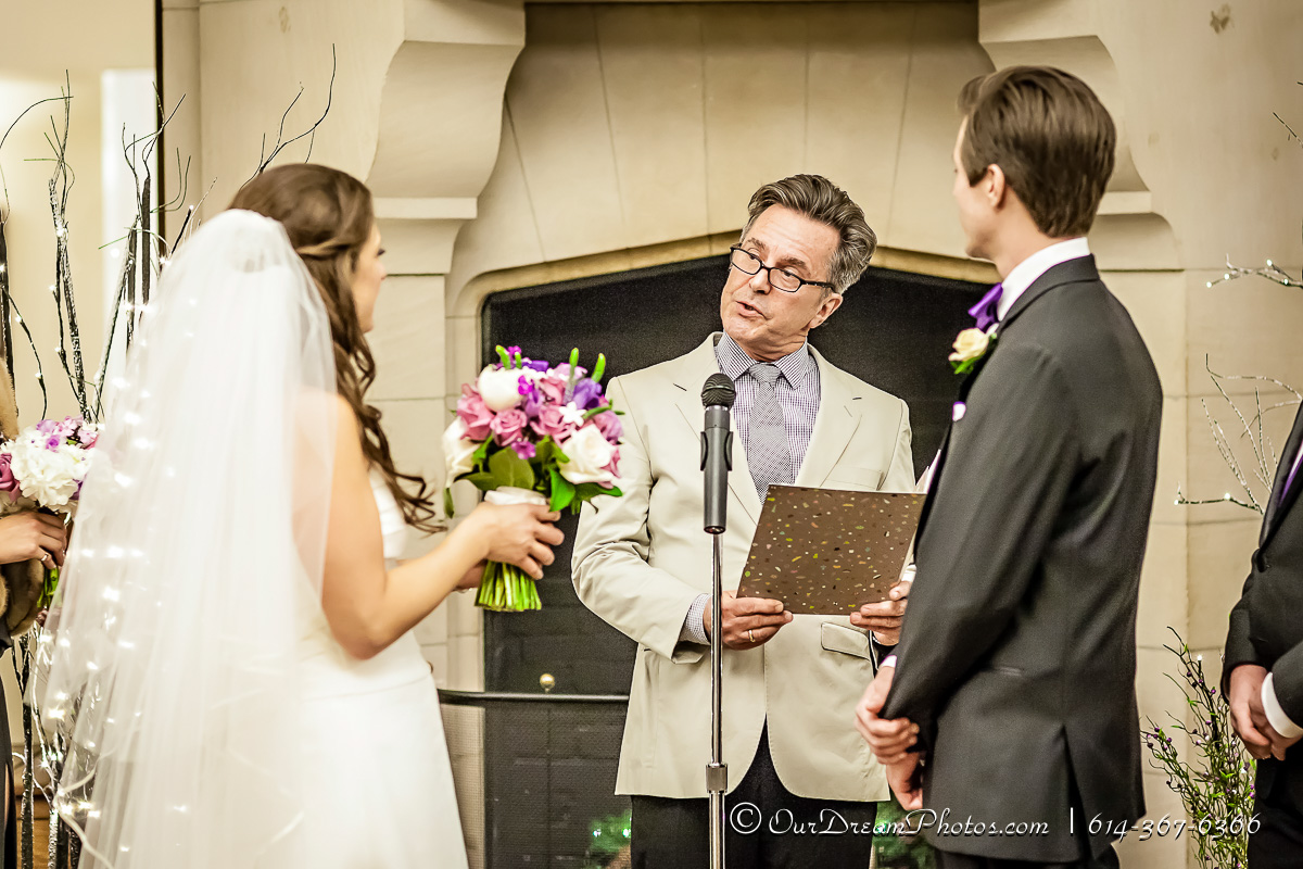 The wedding and reception of Elena Chiappinelli and Robert Casper photographed Friday, January 15, 2016 at the Jeffery Mansion in Bexley, Ohio. (© James D. DeCamp | http://OurDreamPhotos.com | 614-367-6366)