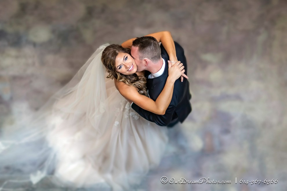 First look and formal photos before the wedding of Ashley Jett and Kyle Compton photographed Saturday, July 30, 2016 at the Hilton Downtown Columbus. (© James D. DeCamp | http://OurDreamPhotos.com | 614-367-6366)