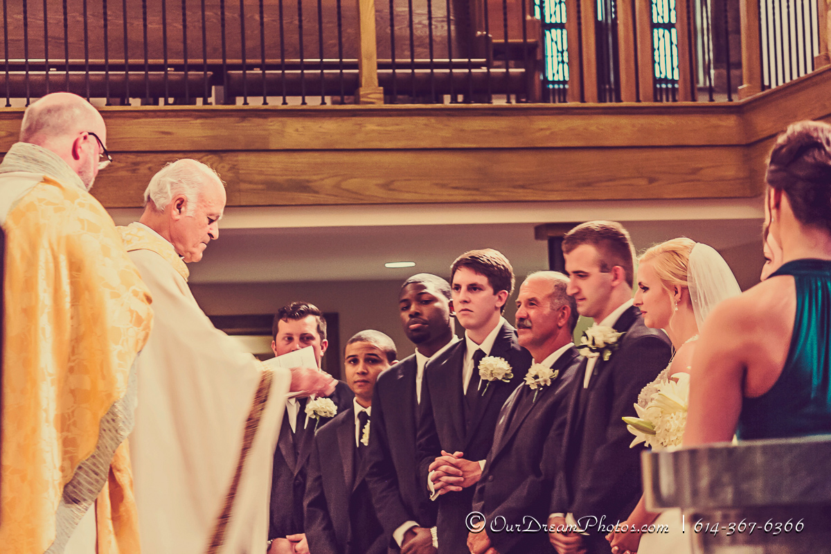 The wedding and reception of Reilly Feldmann and Robert Polletta photographed Saturday, June 13, 2015 at Our Lady of Victory Catholic Church. (© Heather Bechtel | http://OurDreamPhotos.com | 614-367-6366)