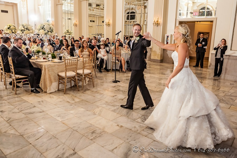 The wedding of Christa Nadler and Nick Orf photographed Saturday, October 3, 2015 at the Westin Downtown in Columbus, Ohio. (© James D. DeCamp | http://OurDreamPhotos.com | 614-367-6366)