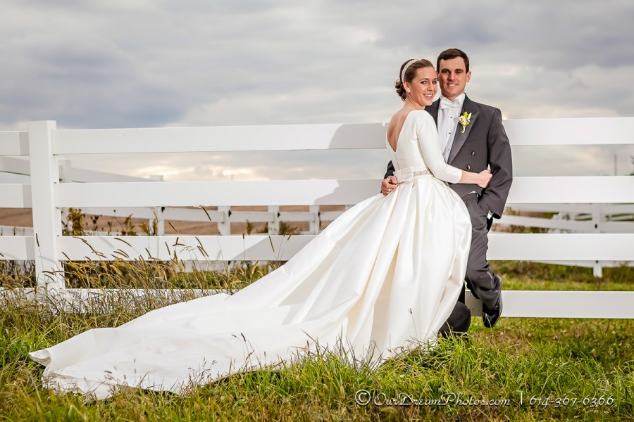 The wedding and reception of Madison Hoenig and Clint Vertin photographed Saturday, October 17, 2015. (© James D. DeCamp | http://OurDreamPhotos.com | 614-367-6366)