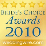 2010 Wedding Wire Brides Choice Award