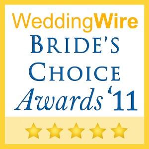2011 Wedding Wire Brides Choice Award