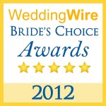 2012 Wedding Wire Brides Choice Award