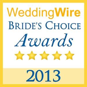 2013 Wedding Wire Brides Choice Award