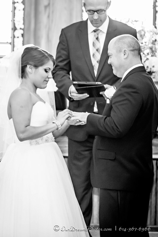 The wedding and reception of Jessica Gonzalez & Mark Tindle photographed Sunday, August 31, 2014. (© James D. DeCamp | http://OurDreamPhotos.com | 614-367-6366)