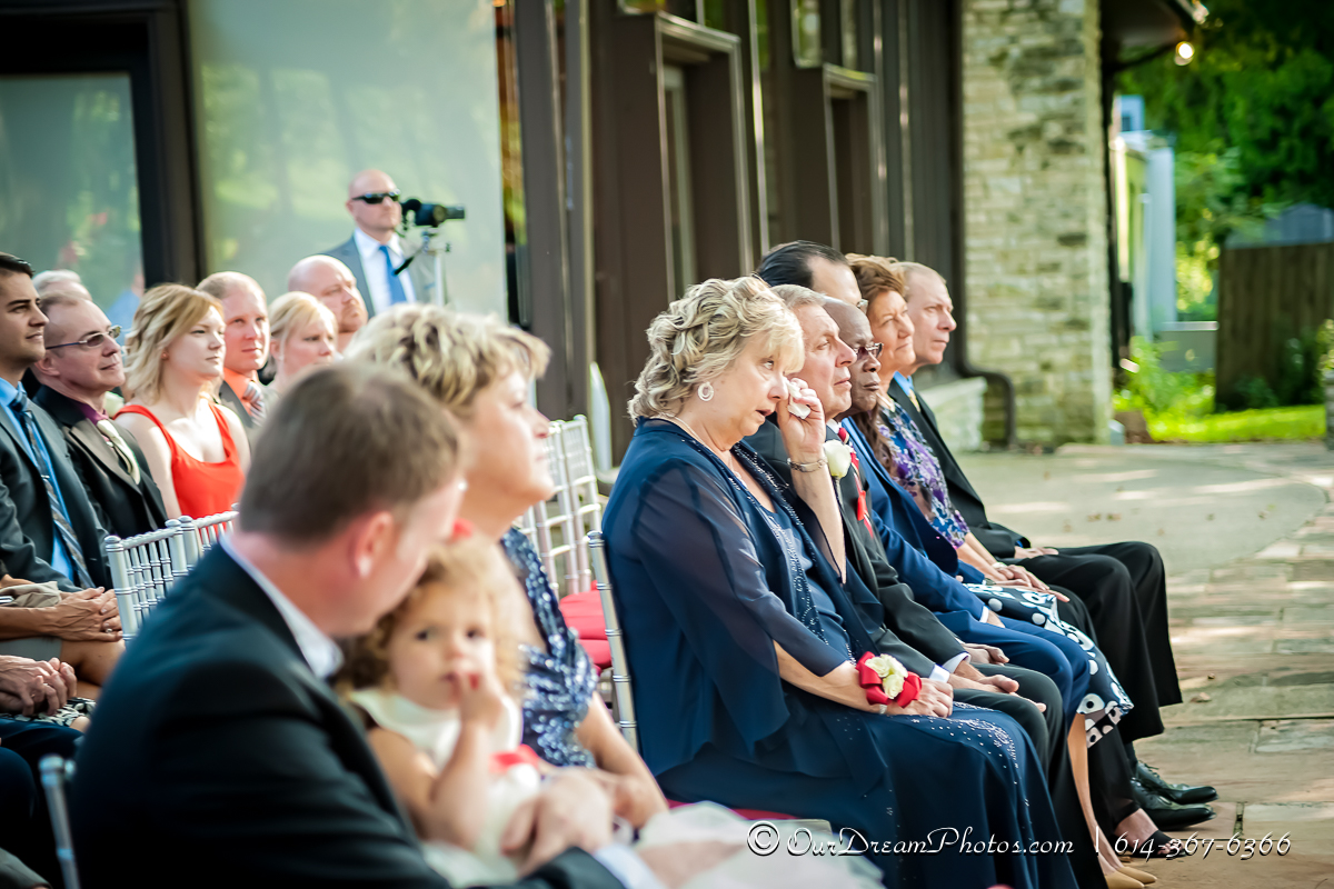 The wedding and Reception of Sarah Baran and Tom Gallagher photographed Saturday, August 26, 2017 at the Darby House. (© James D. DeCamp | http://OurDreamPhotos.com | 614-367-6366)
