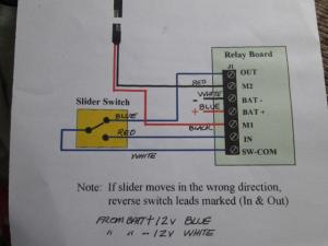 Slide out power, fuse location