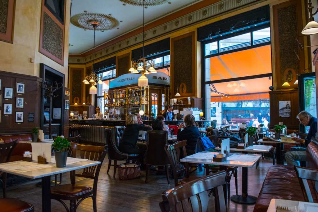Unusual Things to Do in Budapest: Central Cafe