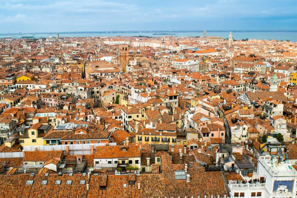 3 Days in Venice in November: Venice from San Marco Bell Tower