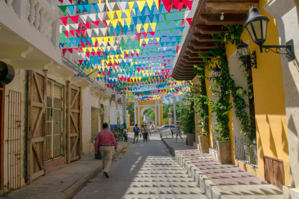 Colombia Packing List: Street in Cartagena