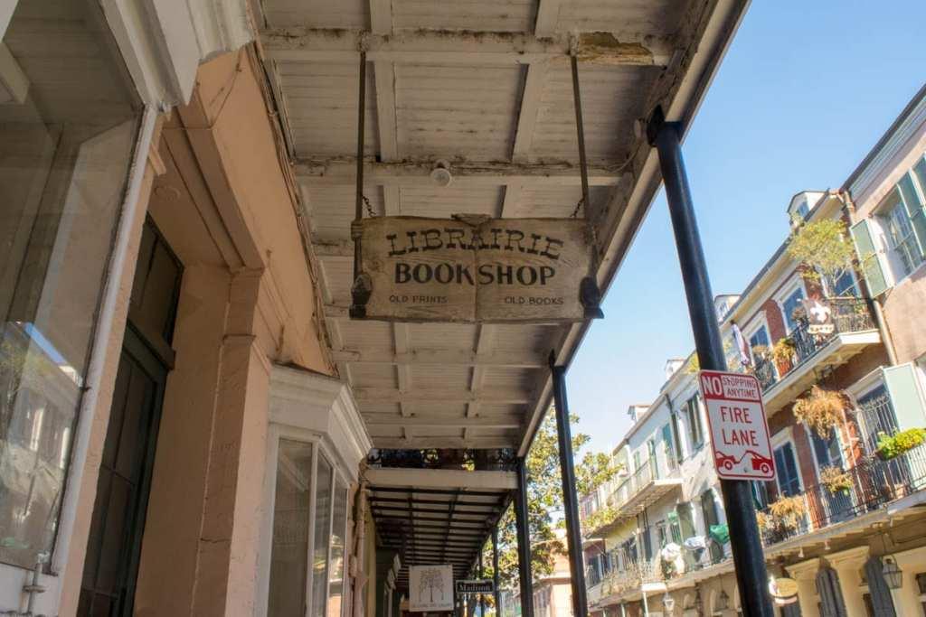 New Orleans Bookstores: Librairie Book Shop