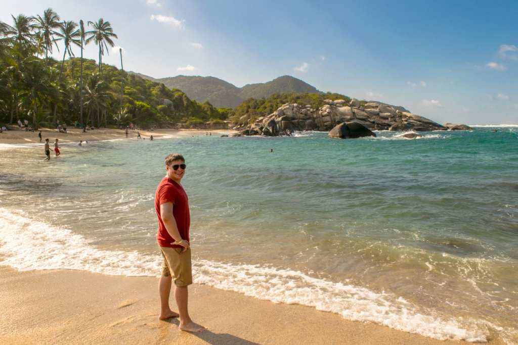2 Weeks in Colombia Itinerary: Cabo San Juan Beach