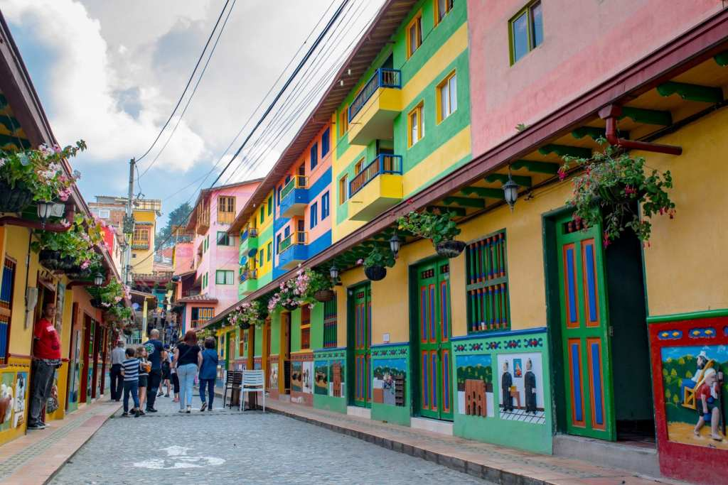 2 Weeks in Colombia Itinerary: Streets of Guatape