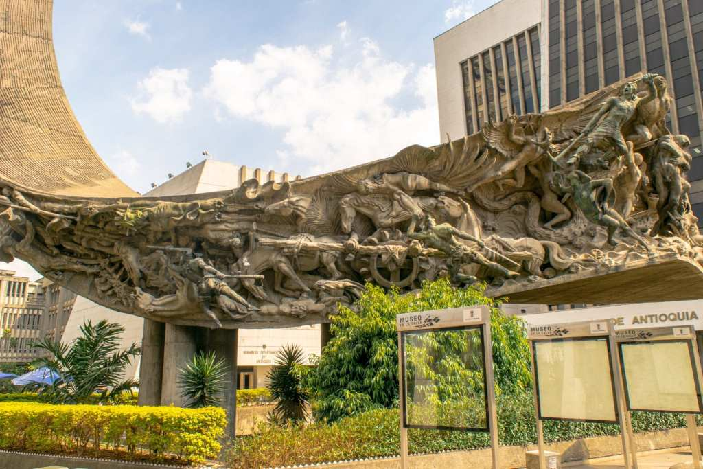 Medellin, Colombia Monument