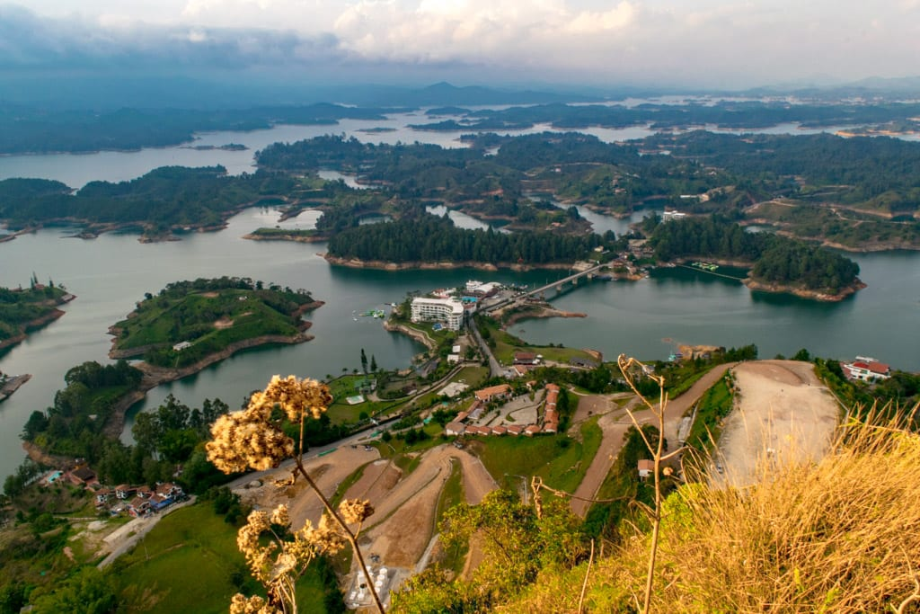 The Best Things to Do in Guatape: View from El Penol