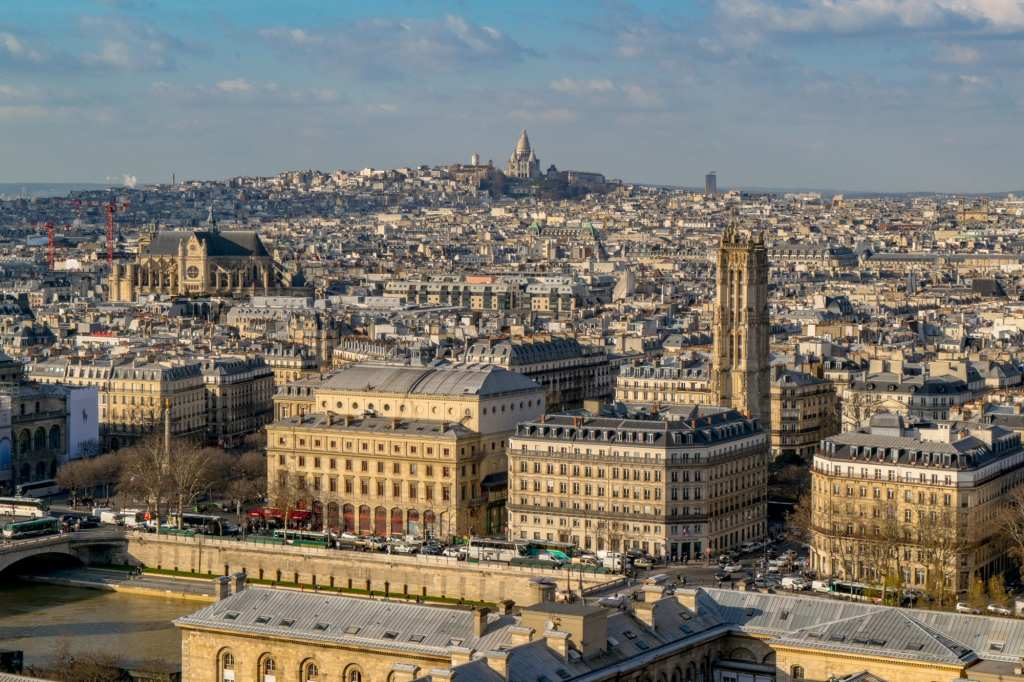 Paris Three Day Itinerary: View of Montmartre