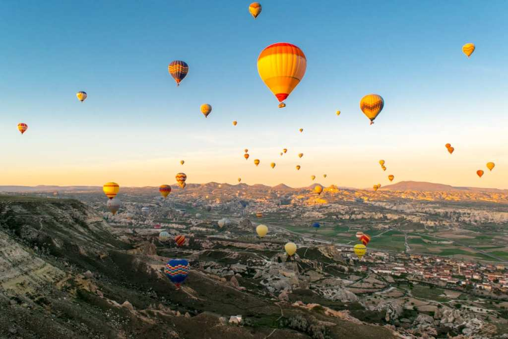 Hot Air Balloons Cappadocia, Turkey