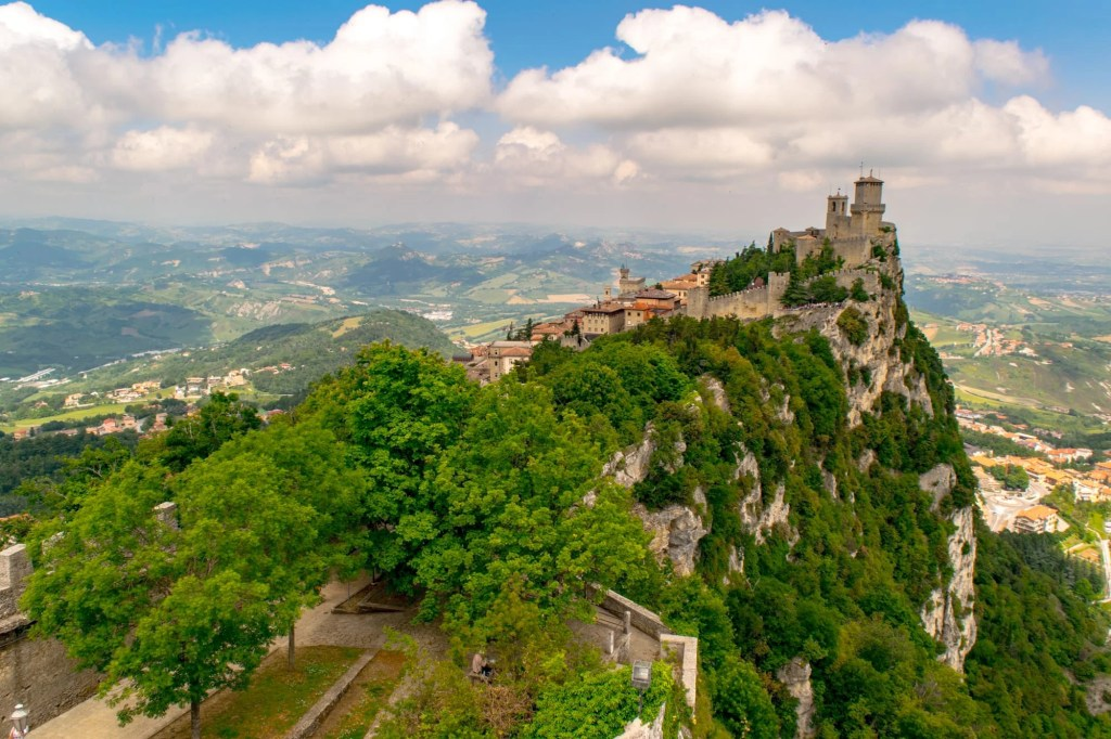 Interesting Facts About San Marino: Tower View