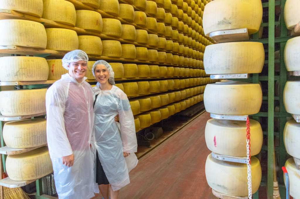 What to Do in Bologna: Tour Cheese Factory